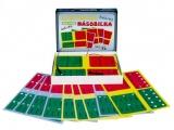 Elektrická násobilka společenská hra na baterie v krabici 22x16x3cm Voltik toys