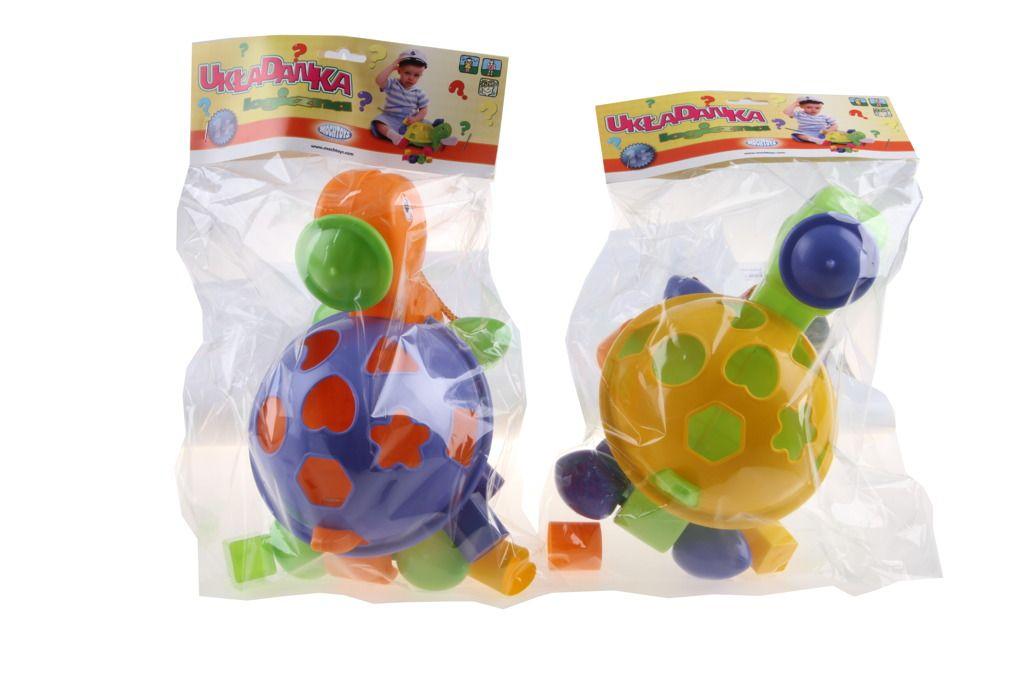 Vkládačka želva plastová Mochtoys