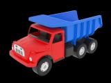Auto Tatra 148 plast 30cm červenomodrá sklápěč v krabici Dino