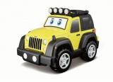 Jeep se světlem a zvukem