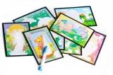 Kouzelné malování vodou 8 obrázků v krabici 22x27x4cm SMT Creatoys