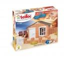 Stavebnice Teifoc Domek Andres 130ks v krabici 35x29x8cm Směr