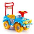 Odrážedlo auto Yupee modré 53,5x48,3x26cm v krabici od 12 do 35 měsíců Teddies