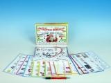 Angličtina! Brnkačka! společenská hra na baterie v krabici 22x16x3cm Voltik toys