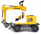 Bagr Liebherr A 918 Litronic stavební stroj Lena