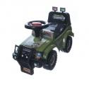 Odrážedlo auto Cross country vojenská khaki zelená 53x48x26cm v krabici od 12 do 35 měsíců Teddies