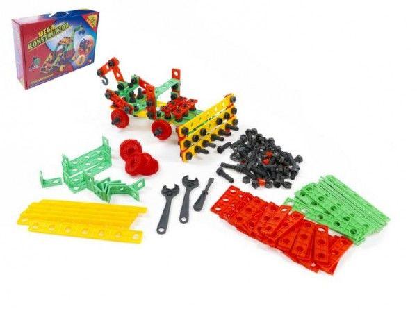Stavebnice Variant Mega konstruktér 458 dílů v krabici 46x33x12cm Teddies