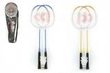 Badminton sada + 3 košíčky Donnay kov 66cm asst 3 barvy v tašce Teddies