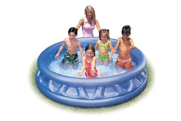 Bazén nafukovací kruh 188x46cm v krabici Teddies