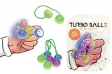 Fidget Turbo ballz plast na baterie se světlem asst 4 barvy na kartě 12x17cm Teddies