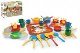 Wader Kuchyňský set nádobí 59ks plast v krabici 12m+