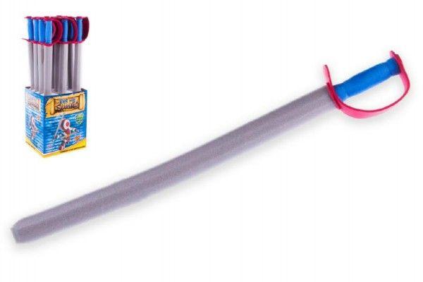 Rytířský meč pěnový 76cm 12ks v boxu Teddies