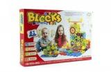 Stavebnice Funny Blocks 81ks plast v krabici 36x25x6cm