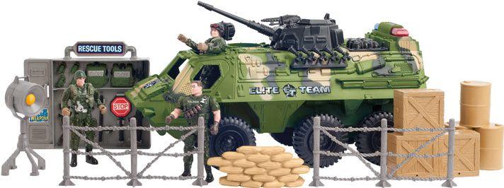 Battalion vojenský obrněný průzkumný prapor set vojsko set armáda Multitoys