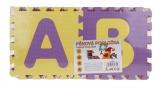Pěnová podložka abeceda - 26 ks pěnové puzzle písmena Alltoys