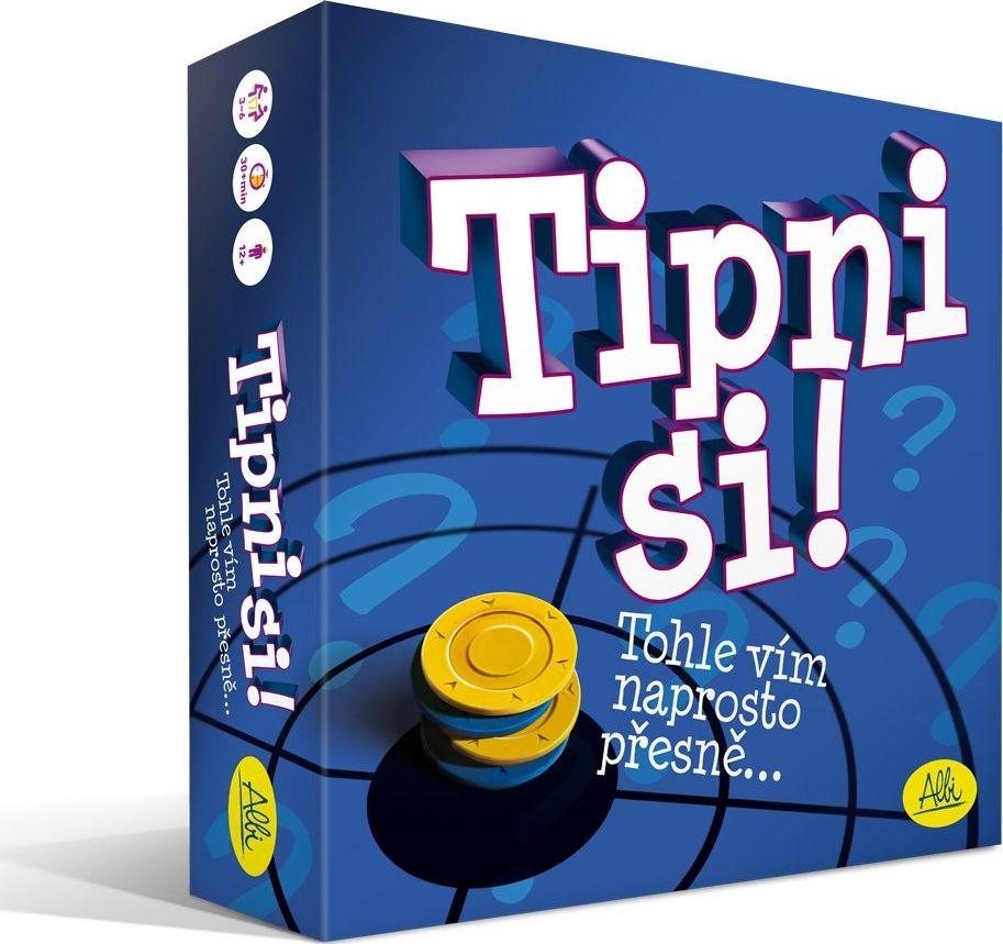 Tipni si párty hra Tipni je společenská hra Albi