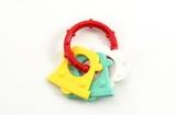 Kousátko tvary plast 8cm asst 4 barvy v sáčku od 0 měsíců Profibaby