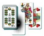 Mariáš dvouhlavý společenská hra v plastové krabičce Bonaparte
