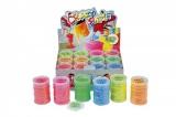 Sliz - hmota neonová 8x5,5cm asst 6 barev 12ks v boxu Teddies