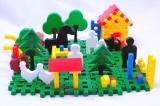 Stavebnice Blok 3 Farma plast 197ks v krabici 35x33x8cm Vista