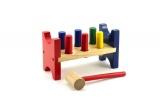 Zatloukačka dřevo 21,5x9x12cm v krabičce