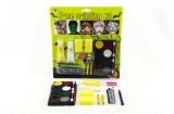 Barvy na obličej s doplňky na kartě karneval 24x26x2cm
