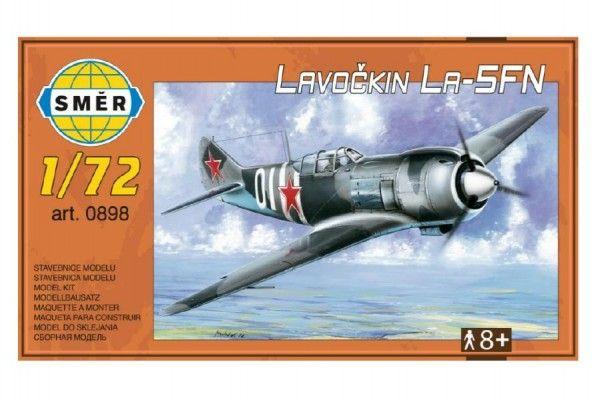 Model Lavočkin La-5FN 1:72 13,6x12cm v krabici 25x14,5cm Směr