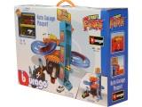 Bburago STREET FIRE auto garáž hrací set 2ks auto v krabičce 1:43