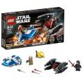 Lego Star Wars Stíhačka A-Wing™ vs. mikrostíhačka TIE Silenc