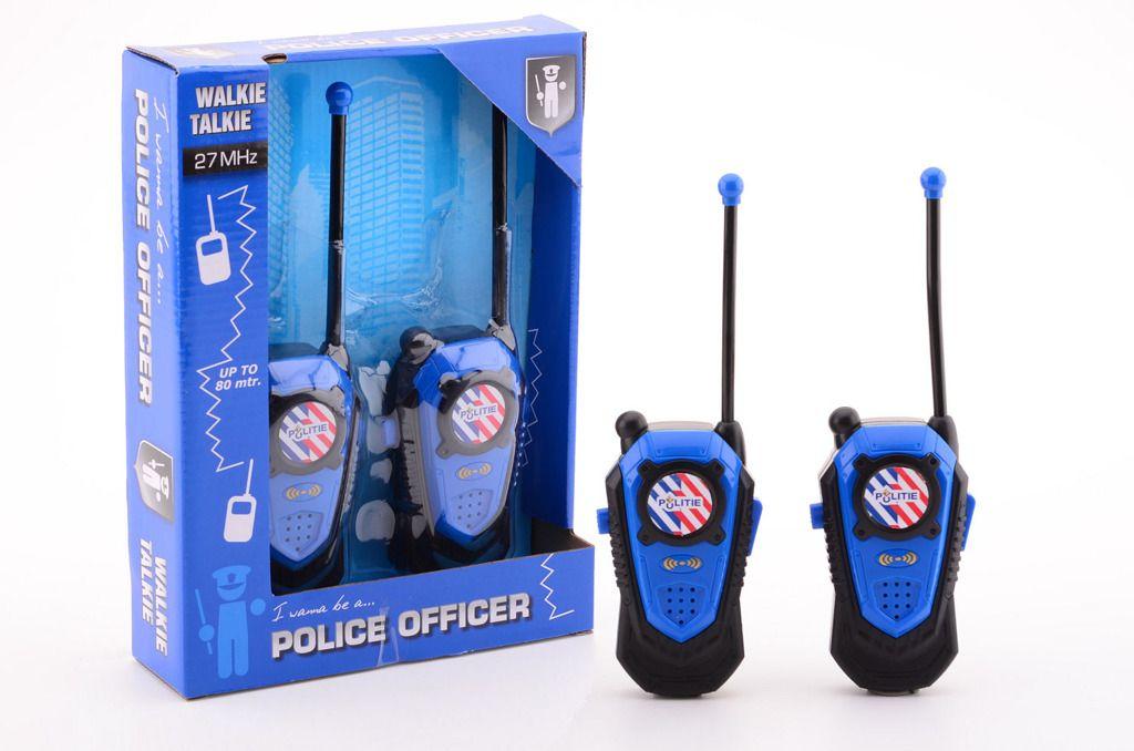 Policejní vysílačky Walkie talkie Johntoy