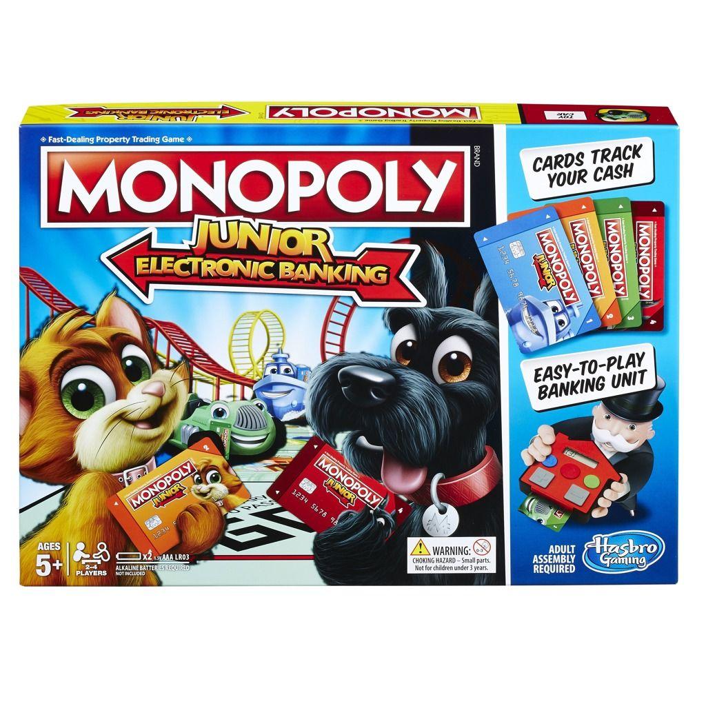 Monopoly Junior Electronic Banking Hasbro