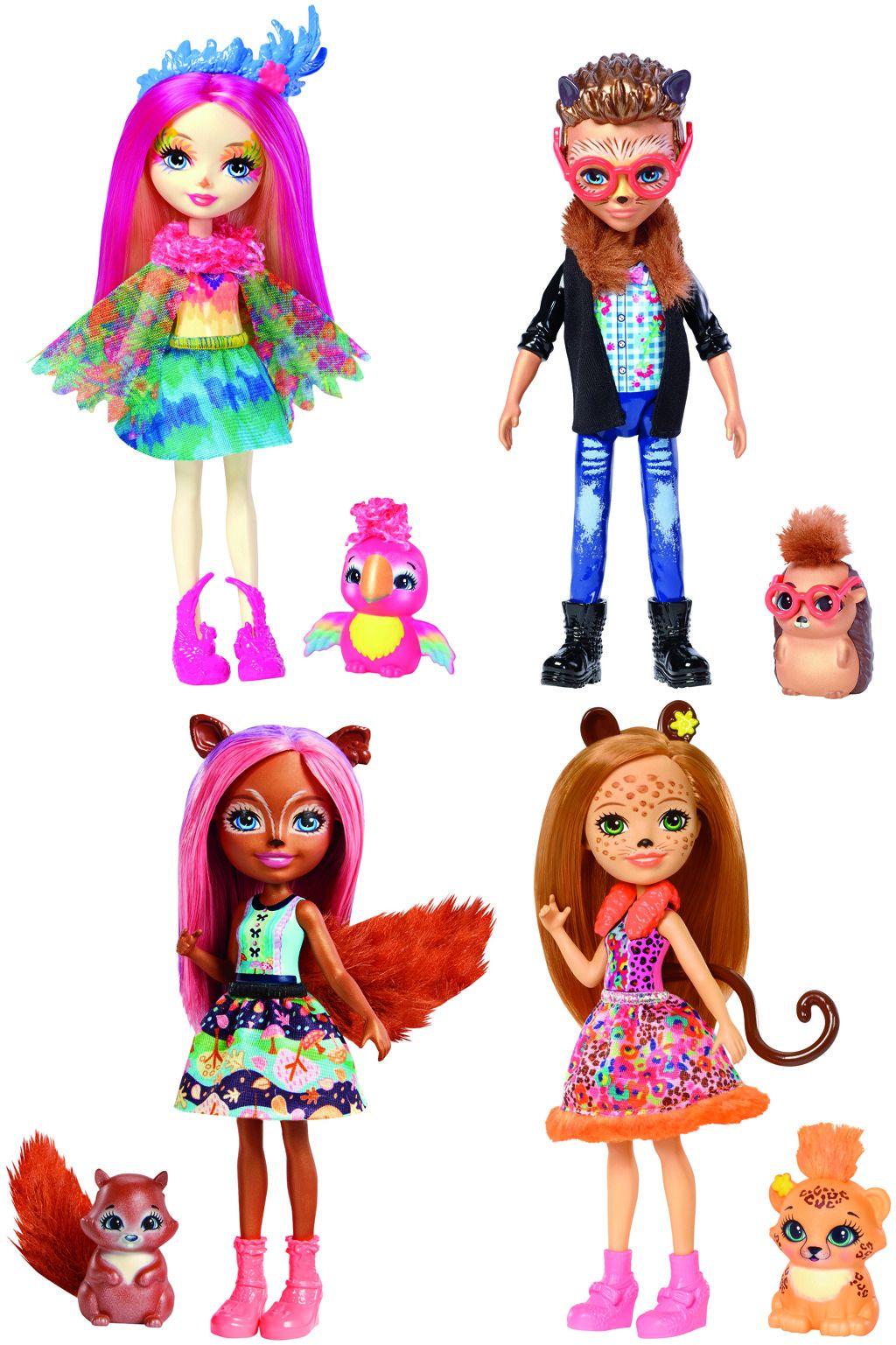 Enchantimals panenka a zvířátko Mattel