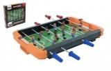 Kopaná/Fotbal stolní kovová táhla v krabici 44x43x7cm Teddies