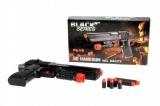 Pistole na pěnové náboje plast 24cm v krabici Black Series