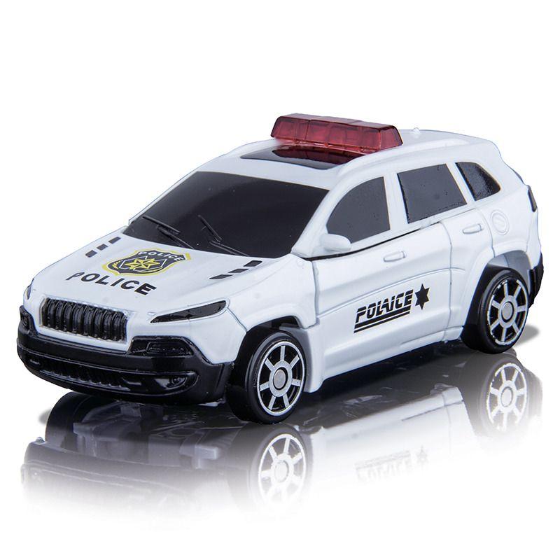 Robocarz 2v1 Jeep Cherokee police 11,5 cm