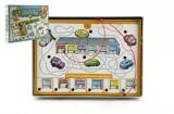 Školička 3 společenská hra na baterie v krabici 22x16x3cm