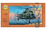 Model Mil Mi-8 1:72 25,5x29,5 cm v krabici 34x19x6cm Směr