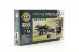 Model Model Hawker Hurricane MK.II  HI TECH 1:72 16,9x13,6cm v krabici 25x14,5x4,5cm