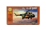 Model Mil Mi-8 SAR 1:72 25,5x29,5 cm v krabici 34x19x6cm Směr