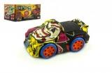 Auto narážecí plast 16cm na baterie se zvukem se světlem v krabičce Teddies