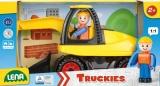 Auto Truckies bagr plast 25cm v krabici 24m+ Lena