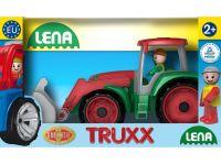 Auta Truxx traktor v krabici plastový traktor