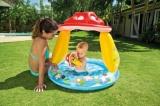 Bazén nafukovací baby muchomůrka 102x89cm od 1-3 let Teddies