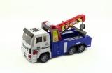 Auto nákladní odtahovka plast 24cm na baterie se světlem se zvukem v krabici Teddies