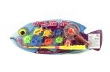 Hra ryby/rybář plast 40cm na kartě Teddies