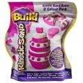Kinetic Sand BUILD - 2 Barevné Balení 450 g.