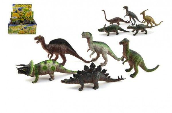 Dinosaurus plast 20cm asst 24ks v boxu Teddies