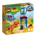 Lego Duplo,10880 Jurassic World T. rex a věž