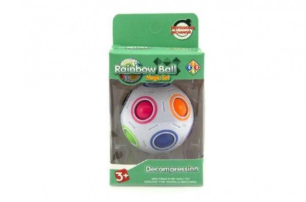 Hlavolam míček plast 7cm v krabičce Teddies
