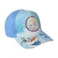 Kšiltovka Ledové království Premium modrá s flitry